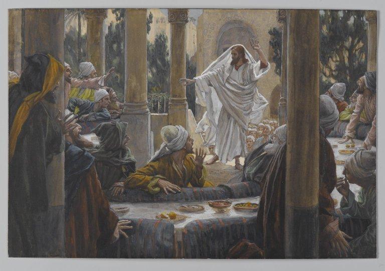 Condeming Pharisees