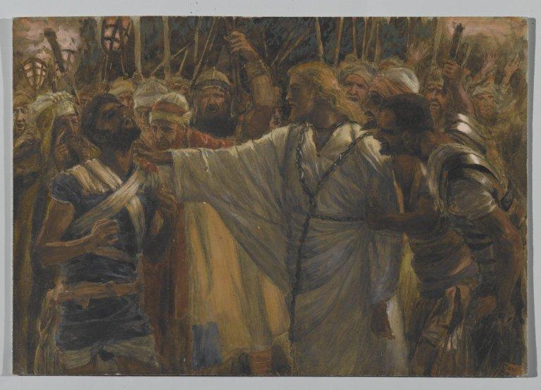 Healing Malchus