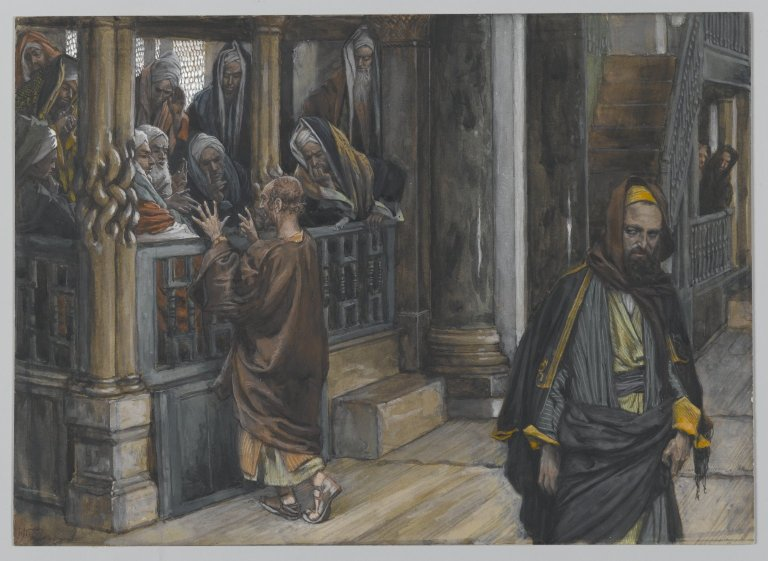 Judas and Pharisees